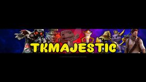 TKMAJESTIC CHANNEL BANNER YOUTUBE :D X by TaintedVampire