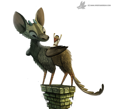 Day 938. Last Guardian by Cryptid-Creations