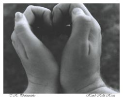 Hand held heart by THogue