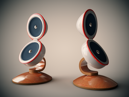 speakers by OsTin