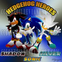 The Hedgehog Heroes by CCgonzo12