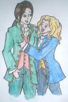 Louis and Lestat by yammyqueen