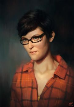 Portrait by WojtekFus