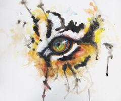 Eye of the Tiger by LightUpMyPalette