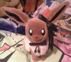 Eevee Trying Be A Sylveon by Eevee-Kins