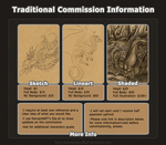 Traditional Commission Guide by DelusionalPuffball