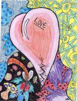 Abstract Love by maxinethebean