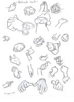 Medabots 'hands' tutorial by HikaruAgata