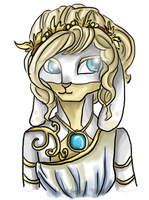 Neopets Request: Koryn the Christmas Zafara by Blesses