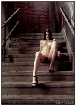 bre on the steps by scottchurch