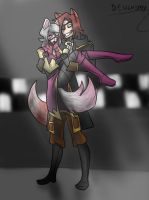 Mangle and Foxy by DesignSpry