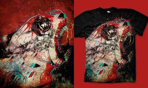 RAGE 3D : Shirt by choppre