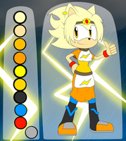 SRS - Patricia The Hedgehog by Flame-Eliwood
