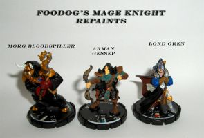 My repaints 1 by FooDogTenchi