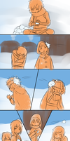 :TG: Snowball Fight! by chibi-kii