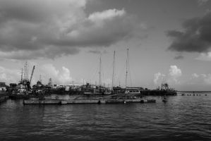 Harbour by gwizdek82