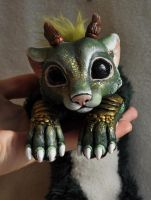 chibi forest spirit by LisaToms