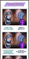 Mass Effect - EDI'S Gift by lux-rocha