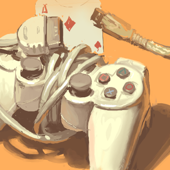 psx controller by milkybee