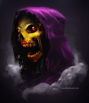 Skeletor Zombified by IamCid