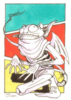 Imp Sketch Card by SoVeryUnofficial