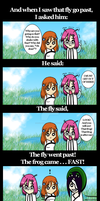 A Fly Went By 2 by ilovemybishies87