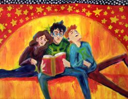Harry Freakin Potter Study Date by repeaturself
