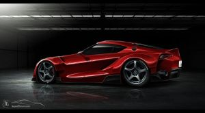 Toyota FT-1 Red by Jay5204
