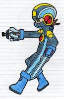 Forming the Mega Buster by GMLink