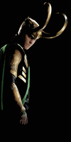 Loki Laufeyson [Bookmark] by AStolenRelic