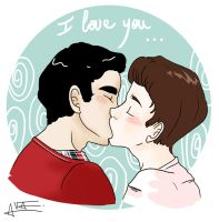 Klaine - I love you by Sunshunes