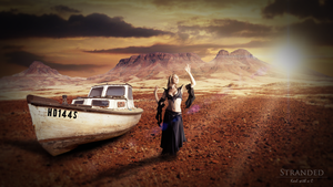 Stranded - Photomanipulation by Karl-with-a-C