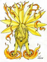 Ninetails by itsmar