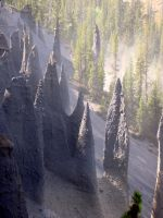 Crater Lake Pinnacles by Geotripper