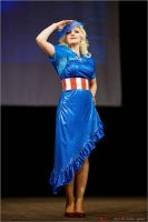 Another Captain America inspired dress 03 by AcidDaisy