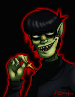 Murdoc is God by DrFoxes