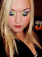 Purpl, blue and yellow by MakeupbyRMF