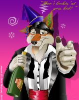 Mottenfest's Birthday Pic by duraluminwolf