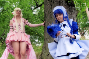 Chii and Yuzuki from Chobits no.3 by JadeDragonne