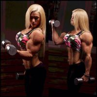 Sofia Isberg muscle morph by Turbo99