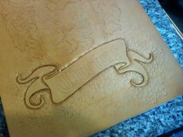 COA Tooling 3 by Blackthornleather