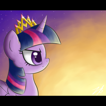 Courageous Princess by el-bojo