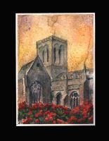 Cathedral in flowers by sanderus