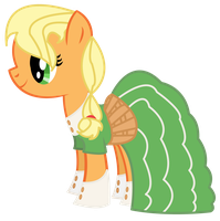 Applejack at the 2012 Gala by dragonpony