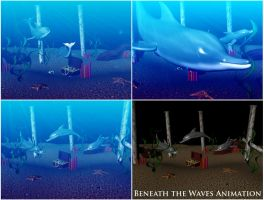 Beneath the Waves Animation by hollywood714