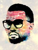 Kanye West Portrait by deniroUK