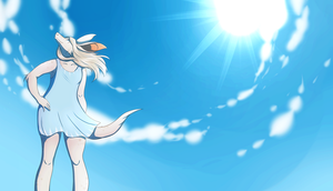 Blue Skies and Sunshine by StormWhiskers