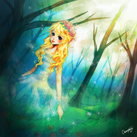:: Forest Nymph :: by CherryshMe