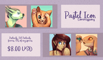 Icon Commissions | OPEN! by Hyena-bones