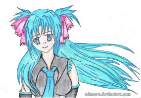 Hatsune Miku_my version by Adenaru